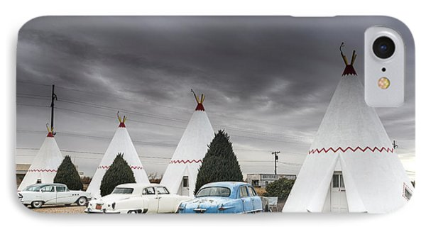 The Wigwam Motel In Holbrook IPhone Case by Carol M Highsmith