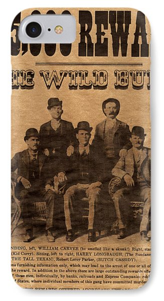 The Wild Bunch IPhone Case by Paul W Faust -  Impressions of Light
