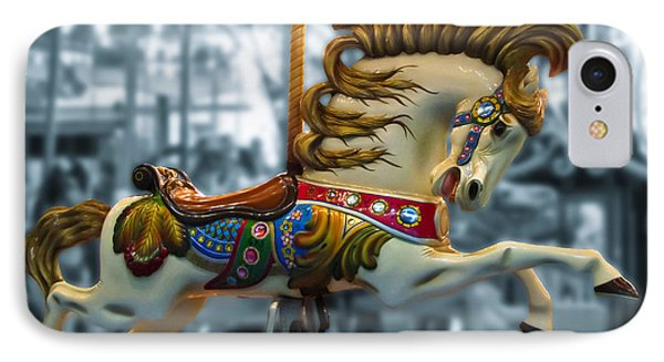 The Wild Stallion Phone Case by Colleen Kammerer