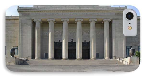 The William Rockhill Nelson Gallery Of Art - Kansas City IPhone Case