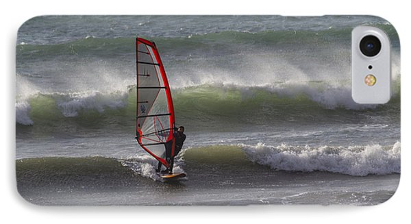 The Wind Surfer IPhone Case