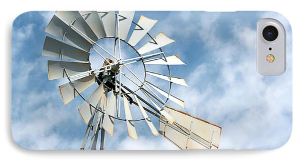 The Wind Wheel Phone Case by Kathy  White