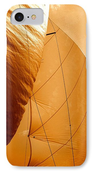 The Wind Will Carry Me Phone Case by Rick Todaro