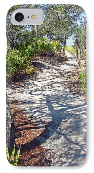 IPhone Case featuring the photograph The Winding Path by Ellen Tully