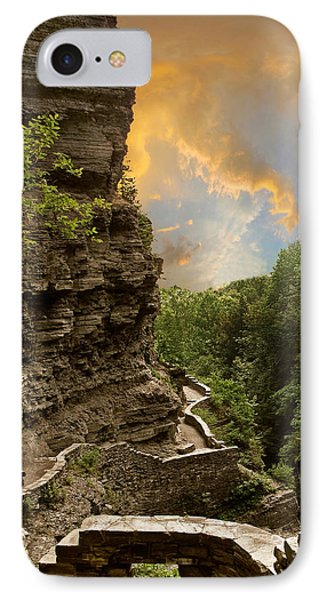 The Winding Trail IPhone Case