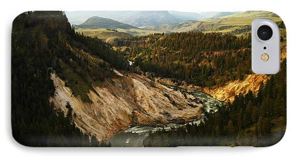 The Winding Yellowstone Phone Case by Jeff Swan