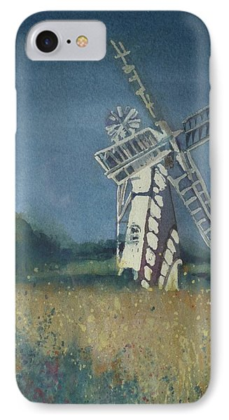 IPhone Case featuring the painting The Windmill by Lori Ippolito