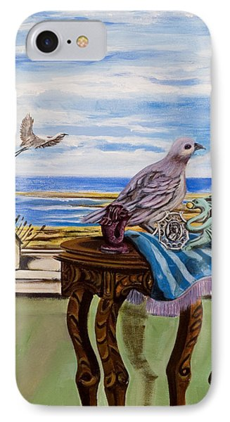 The Window Has A View IPhone Case by Susan Culver