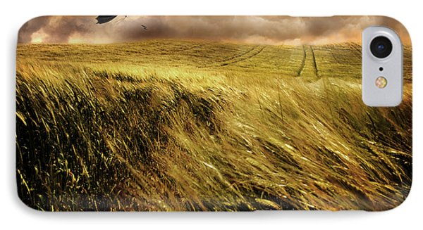 The Windy Day IPhone Case by Mal Bray