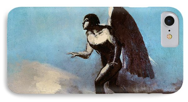 The Winged Man Or Fallen Angel IPhone Case