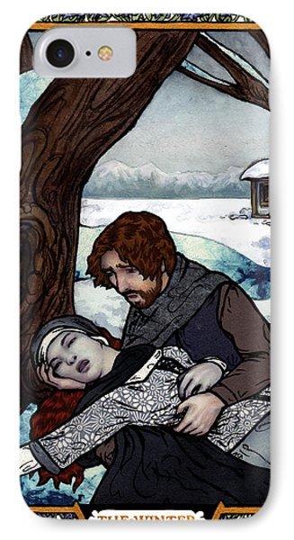 The Winter Bookplate IPhone Case
