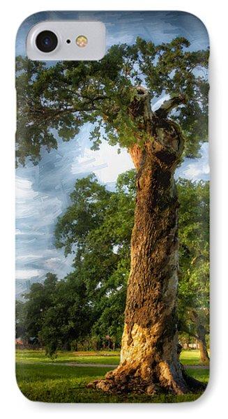 The Wisdom Tree IPhone Case