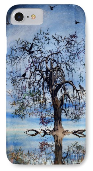 The Wishing Tree IPhone Case by John Edwards