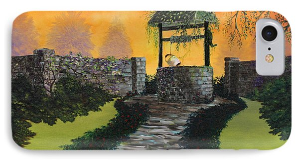 The Wishing Well Phone Case by David Kacey