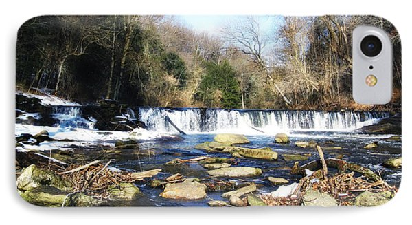 The Wissahickon Creek In February Phone Case by Bill Cannon