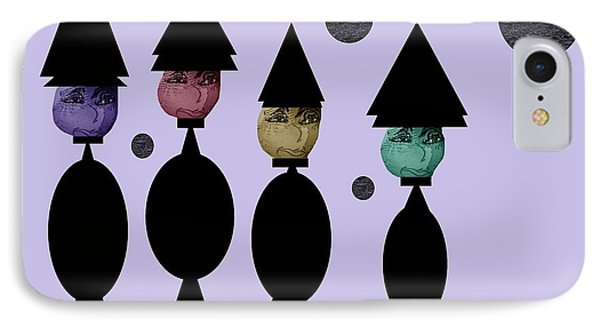 The Witch Club IPhone Case by Ann Calvo