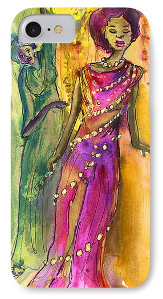The Witches From Las Palmas IPhone Case by Miki De Goodaboom