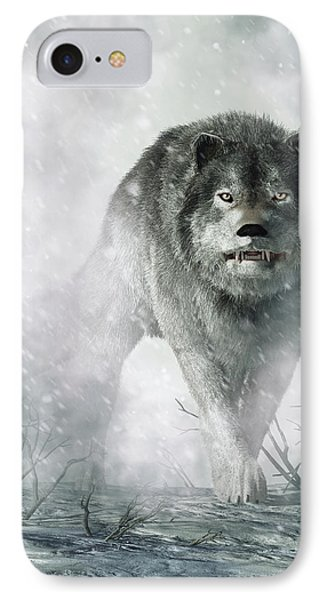 The Wolf Of Winter IPhone Case