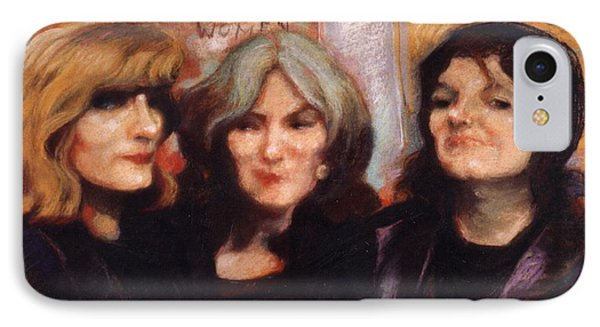 IPhone Case featuring the painting The Women by Walter Casaravilla