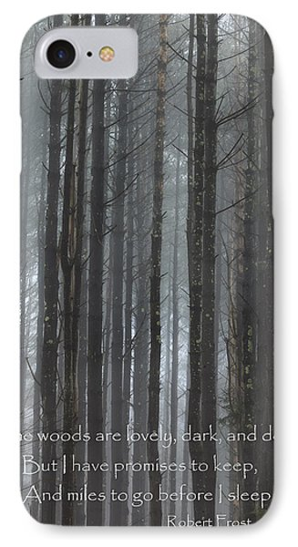 The Woods Phone Case by Bill Wakeley