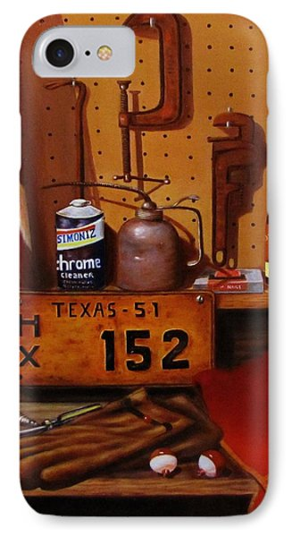 The Workshop Phone Case by Gene Gregory