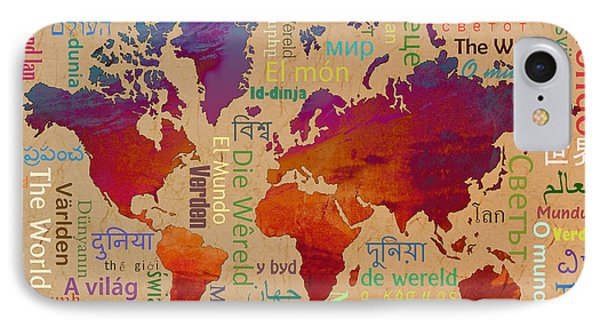The World IPhone Case by Bedros Awak