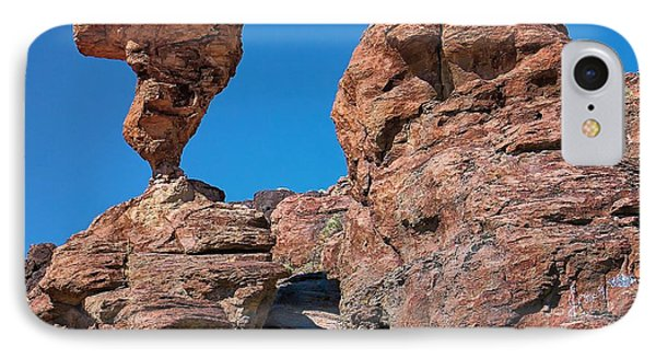 IPhone Case featuring the photograph The World-famous Balanced Rock by Michael Rogers