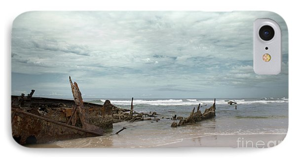 The Wreck Of The Maheno IPhone Case