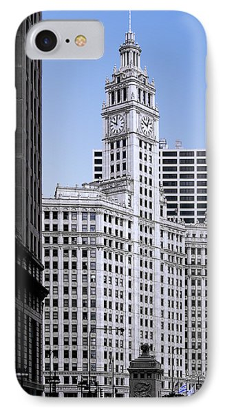 The Wrigley - A Building That Is Pure Chicago Phone Case by Christine Till