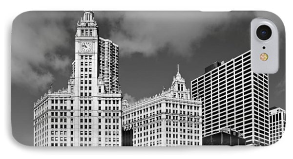 The Wrigley Building Chicago Phone Case by Christine Till