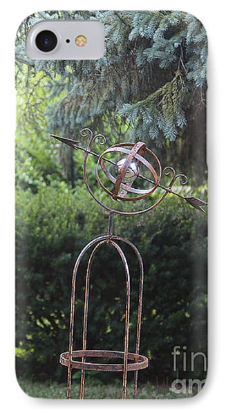 The Wrought Iron Gate IPhone Case by Yvonne Wright