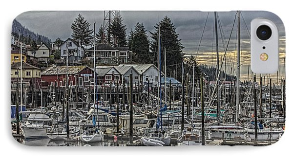 The Yacht Club Ketchikan IPhone Case by Timothy Latta