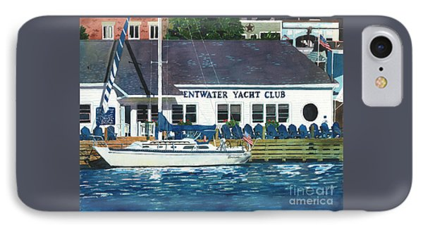 The Yacht Club IPhone Case by LeAnne Sowa
