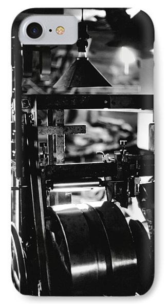 IPhone Case featuring the photograph The Yardstick Press by Dennis Bucklin