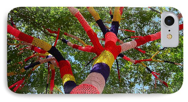 The Yarn Tree IPhone Case by Dan Redmon