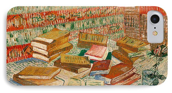 The Yellow Books IPhone Case by Vincent Van Gogh