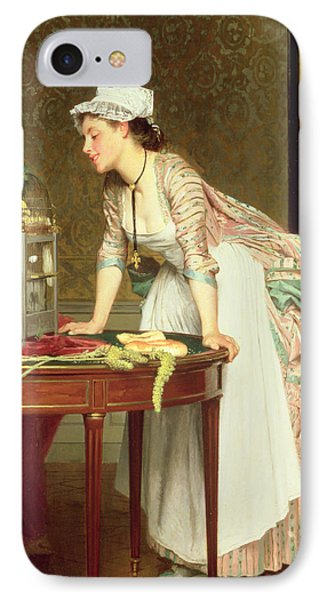 The Yellow Canaries IPhone Case by Joseph Caraud