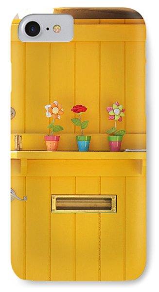 The Yellow Door IPhone Case