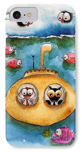 The Yellow Submarine IPhone Case
