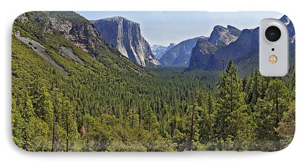 IPhone Case featuring the photograph The Yosemite Valley by Sebastien Coursol