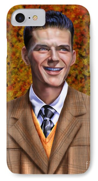 The Young Chairman - Sinatra IPhone Case