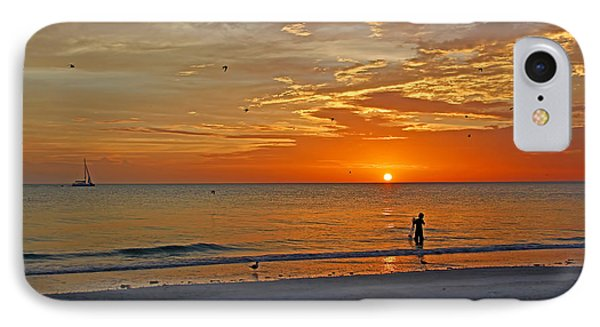 The Young Fisherman IPhone Case by HH Photography of Florida