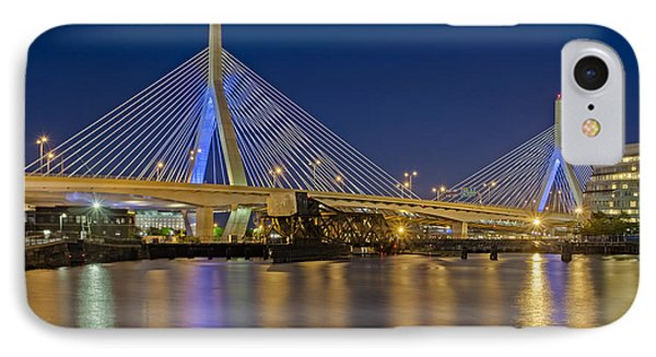 The Zakim Bridge IPhone Case by Susan Candelario