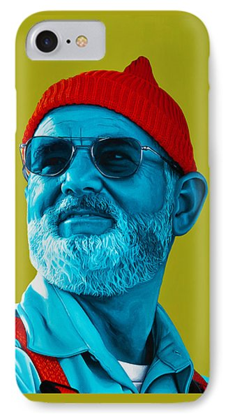 The Zissou- Background Edit Phone Case by Ellen Patton