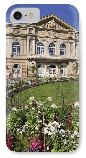 Theater Building Baden-baden Germany Phone Case by Matthias Hauser