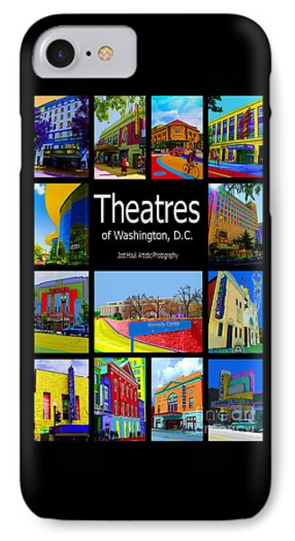 Theatres Of Washington Dc Phone Case by Jost Houk