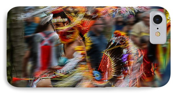 Their Spirit Is Among Us - Nanticoke Powwow Delaware IPhone Case