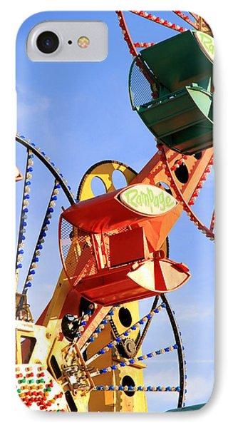 Theme Park Ride Phone Case by Valentino Visentini
