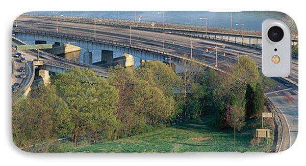 Theodore Roosevelt Bridge, Washington IPhone Case by Panoramic Images
