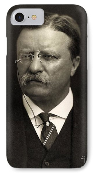 Theodore Roosevelt IPhone Case by Unknown